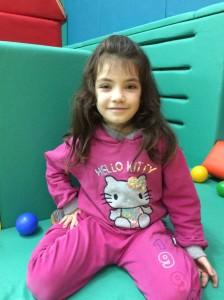 Child in Multi sensory room